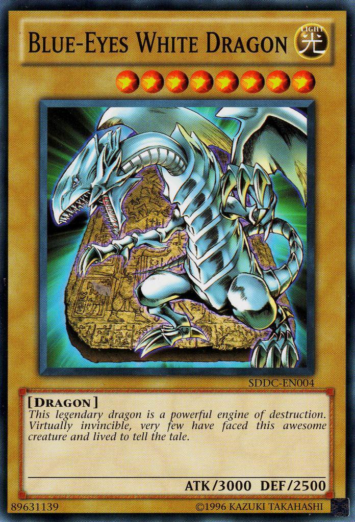 Blue-Eyes White Dragon - SDDC-EN004 - Common - Unlimited