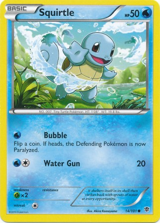 Squirtle - 14/101 - Common