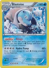 Blastoise - 16/101 - Holo Rare on Channel Fireball