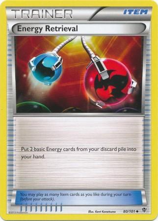 Energy Retrieval - 80/101 - Uncommon