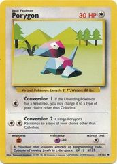 Porygon - 39/102 - Uncommon - Unlimited Edition