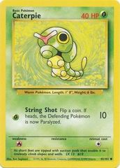 Caterpie - 45/102 - Common - Unlimited Edition