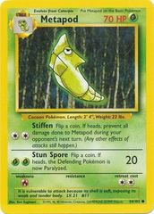 Metapod - 54/102 - Common - Unlimited Edition