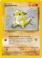 Sandshrew - 62/102 - Common - Unlimited Edition