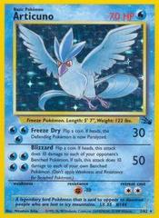 Articuno - 2/62 - Holo Rare - Unlimited Edition on Channel Fireball