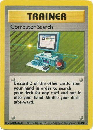 Computer Search - 71/102 - Rare - Unlimited Edition