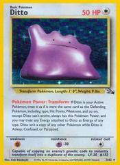 Ditto - 3/62 - Holo Rare - Unlimited Edition on Channel Fireball