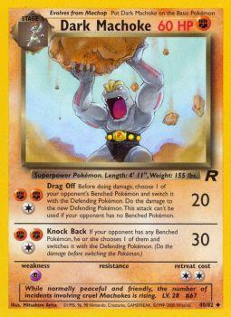 Dark Machoke - 40/82 - Uncommon - Unlimited Edition