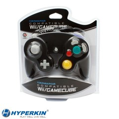 Controller for Wii / GameCube (Black) Cirka