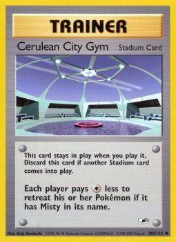 Cerulean City Gym - 108/132 - Uncommon - Unlimited Edition