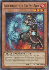 Brotherhood of the Fire Fist - Wolf - LTGY-EN026 - Common - Unlimited Edition