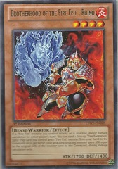 Brotherhood of the Fire Fist - Rhino - LTGY-EN028 - Rare - Unlimited Edition