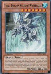 Tidal, Dragon Ruler of Waterfalls - LTGY-EN039 - Rare - Unlimited Edition