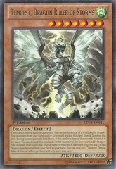 Tempest, Dragon Ruler of Storms - LTGY-EN041 - Rare - Unlimited Edition