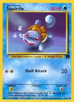 Squirtle - 68/82 - Common - Unlimited Edition