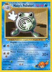 Misty's Poliwhirl - 53/132 - Uncommon - Unlimited Edition