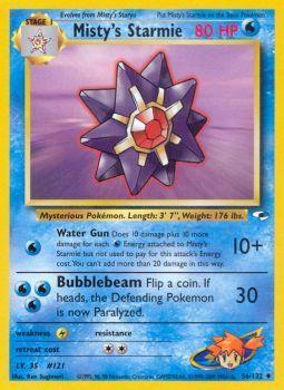 Mistys Starmie - 56/132 - Uncommon - Unlimited Edition