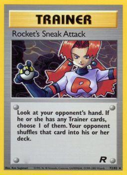 Rockets Sneak Attack - 72/82 - Rare - Unlimited Edition