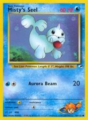 Misty's Seel - 88/132 - Common - Unlimited Edition