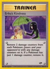 Erika's Kindness - 103/132 - Rare - Unlimited Edition on Channel Fireball