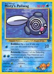 Misty's Poliwag - 89/132 - Common - Unlimited Edition