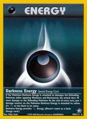 Darkness Energy - 104/111 - Rare - Unlimited Edition