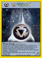 Metal Energy - 19/111 - Holo Rare - Unlimited Edition