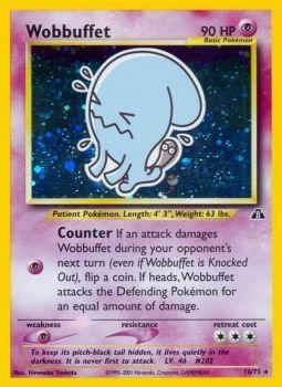 Wobbuffet - 16/75 - Holo Rare - Unlimited Edition