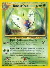 Butterfree - 19/75 - Rare - Unlimited Edition