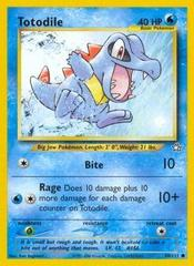Totodile - 80/111 - Common - Unlimited Edition