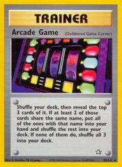 Arcade Game - 83/111 - Rare - Unlimited Edition