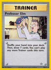 Professor Elm - 96/111 - Uncommon - Unlimited Edition