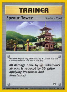 Sprout Tower - 97/111 - Uncommon - Unlimited Edition