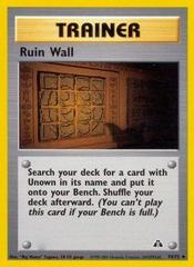 Ruin Wall - 74/75 - Uncommon - Unlimited Edition