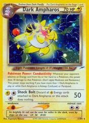 Dark Ampharos - 1/105 - Holo Rare - Unlimited Edition