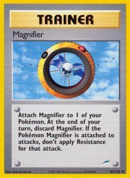 Magnifier - 101/105 - Uncommon - Unlimited Edition