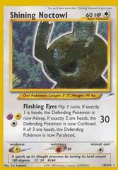 Shining Noctowl - 110/105 - Shining Holo Rare - Unlimited Edition