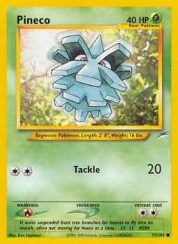 Pineco - 77/105 - Common - Unlimited Edition
