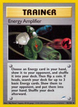 Energy Amplifier - 98/105 - Uncommon - Unlimited Edition
