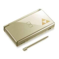 DS Lite Gold - Phantom Hourglass Edition
