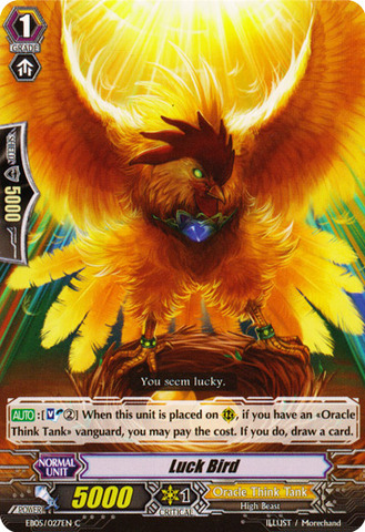Luck Bird - EB05/027EN - C