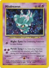 Misdreavus - 11/64 - Holo Rare - Unlimited Edition