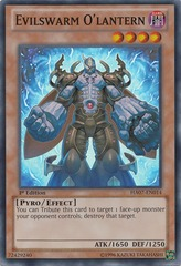 Evilswarm O'lantern - HA07-EN014 - Super Rare - Unlimited Edition