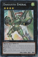Daigusto Emeral - HA07-EN020 - Secret Rare - Unlimited Edition