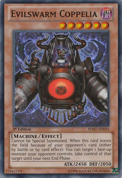 Evilswarm Coppelia - HA07-EN054 - Super Rare - Unlimited Edition