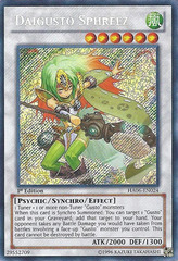 Daigusto Sphreez - HA06-EN024 - Secret Rare - Unlimited Edition on Channel Fireball