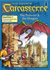 Carcassonne Exp 3: The Princess & the Dragon