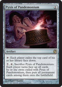 Pyxis of Pandemonium - Foil