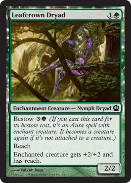 Leafcrown Dryad - Foil