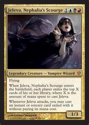 Jeleva, Nephalias Scourge